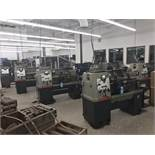 Featuring - Clausing Colchester Toolroom Lathes with Readouts and Tooling *See Lots 1-8 to Bid