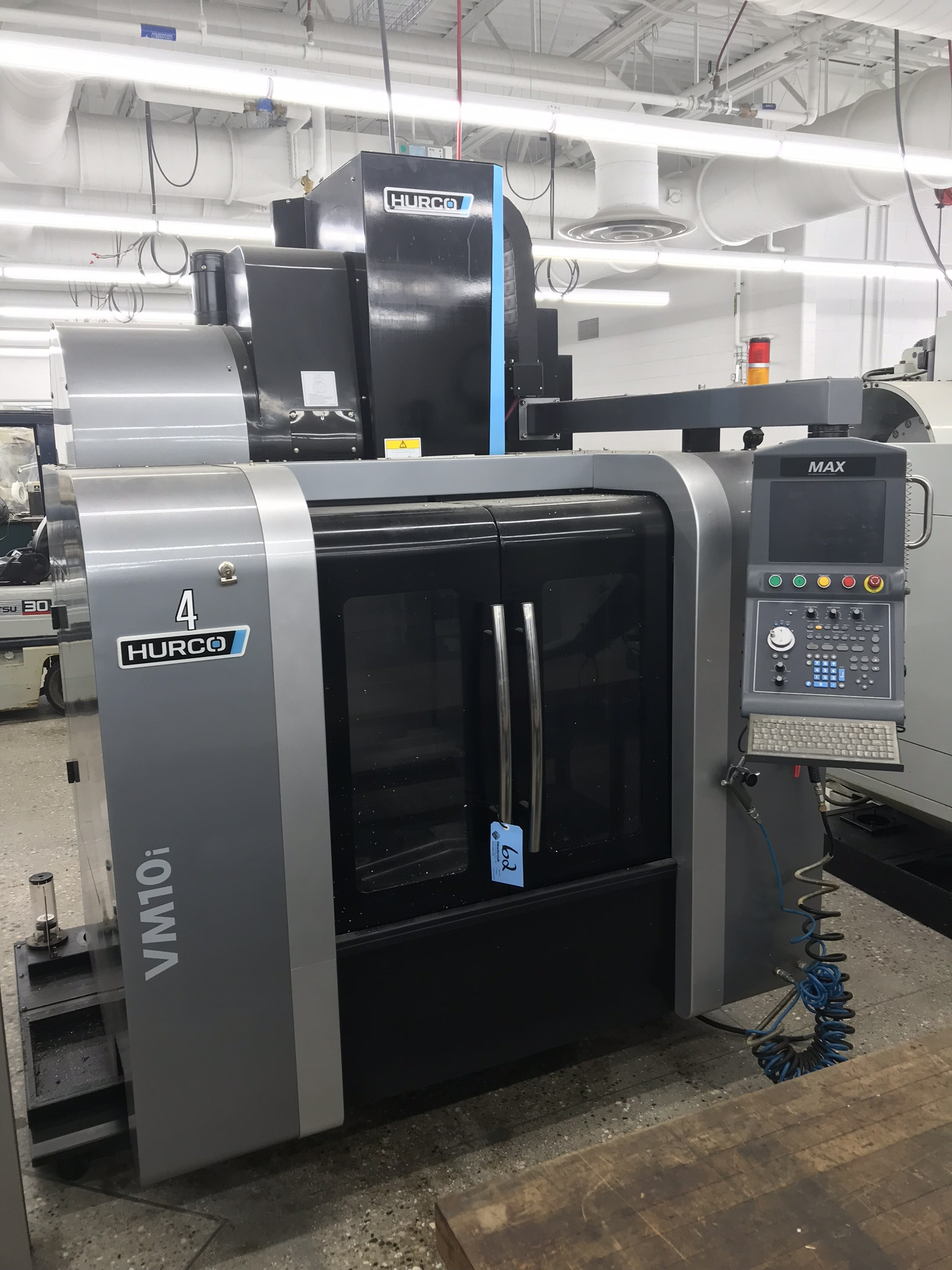 Hurco VM-10i Vertical Machining Center, Loaded with Software and Options (2013) 1,600 Total Hours