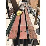 "80' Run of Hoist Trolley Beam (7"" x 14"" I-Beam) including (3) 25' Sections and (1) 5' Section"