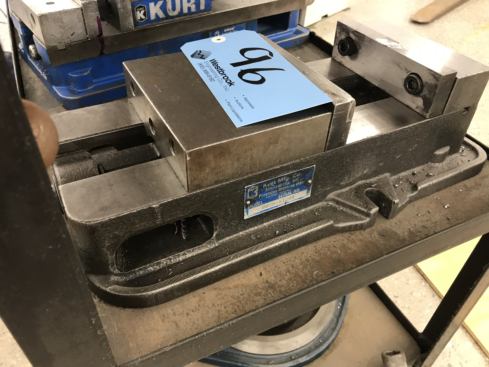Kurt D675Precision Machine Vise