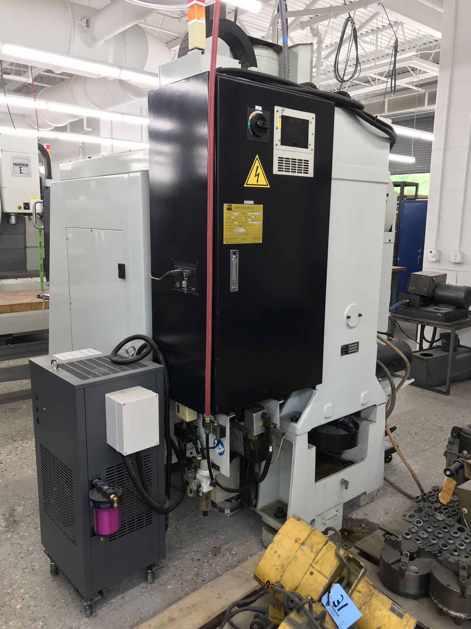 Hurco VM-1 CNC Vertical Machining Center, Spindle Recently Replaced, Approx 6,500 Hours, Max Control - Image 5 of 6