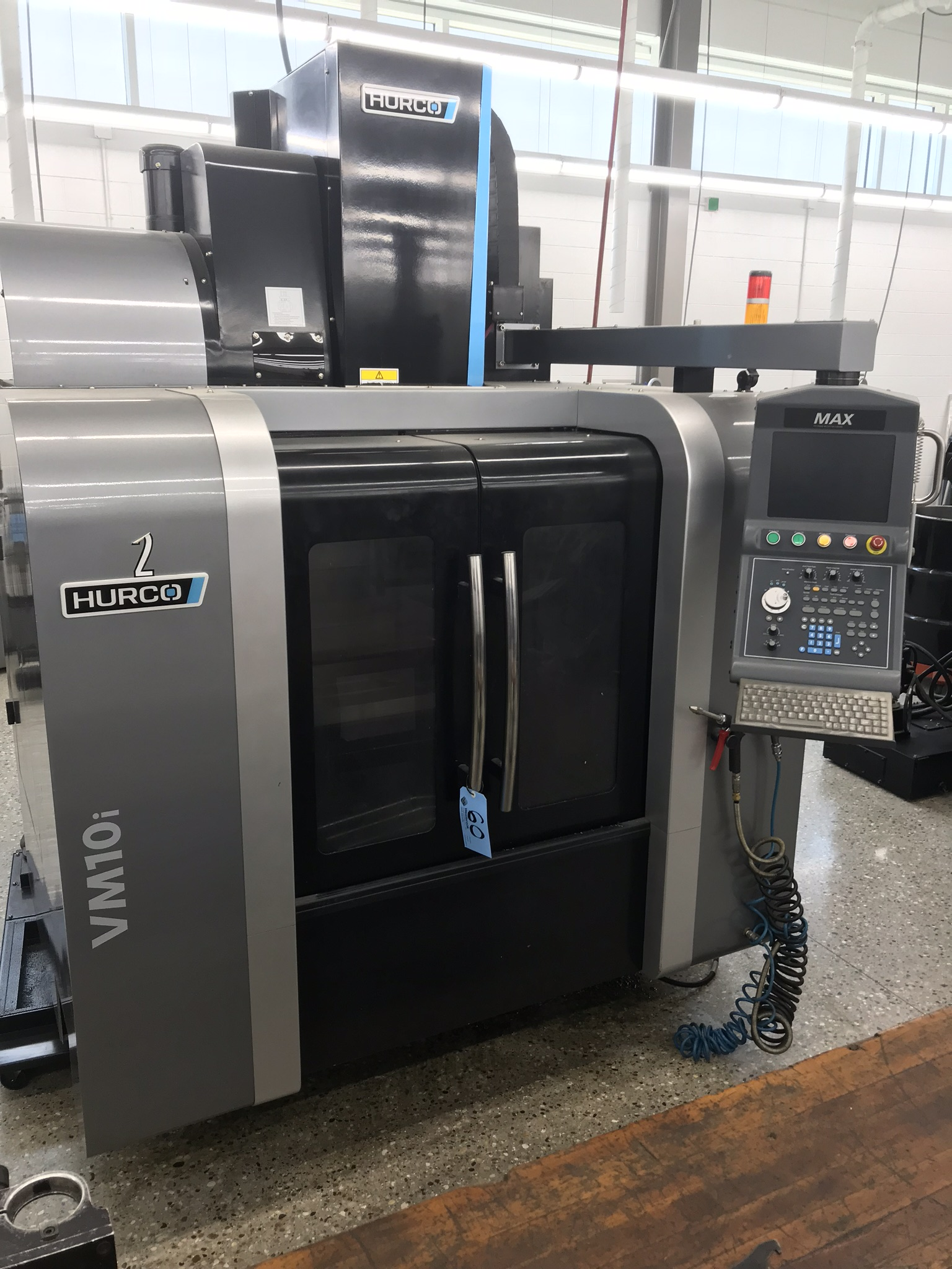 Hurco VM-10i Vertical Machining Center, Loaded with Software and Options (2013) 3,400 Total Hours