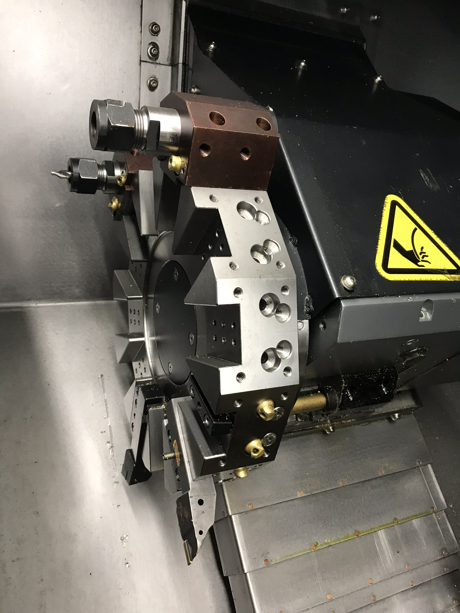 Hurco TM-6i CNC Lathe, Winmax Classic Package, Rigid Tap, Renishaw Presetter, Chip Conv, 400 Hours! - Image 7 of 13