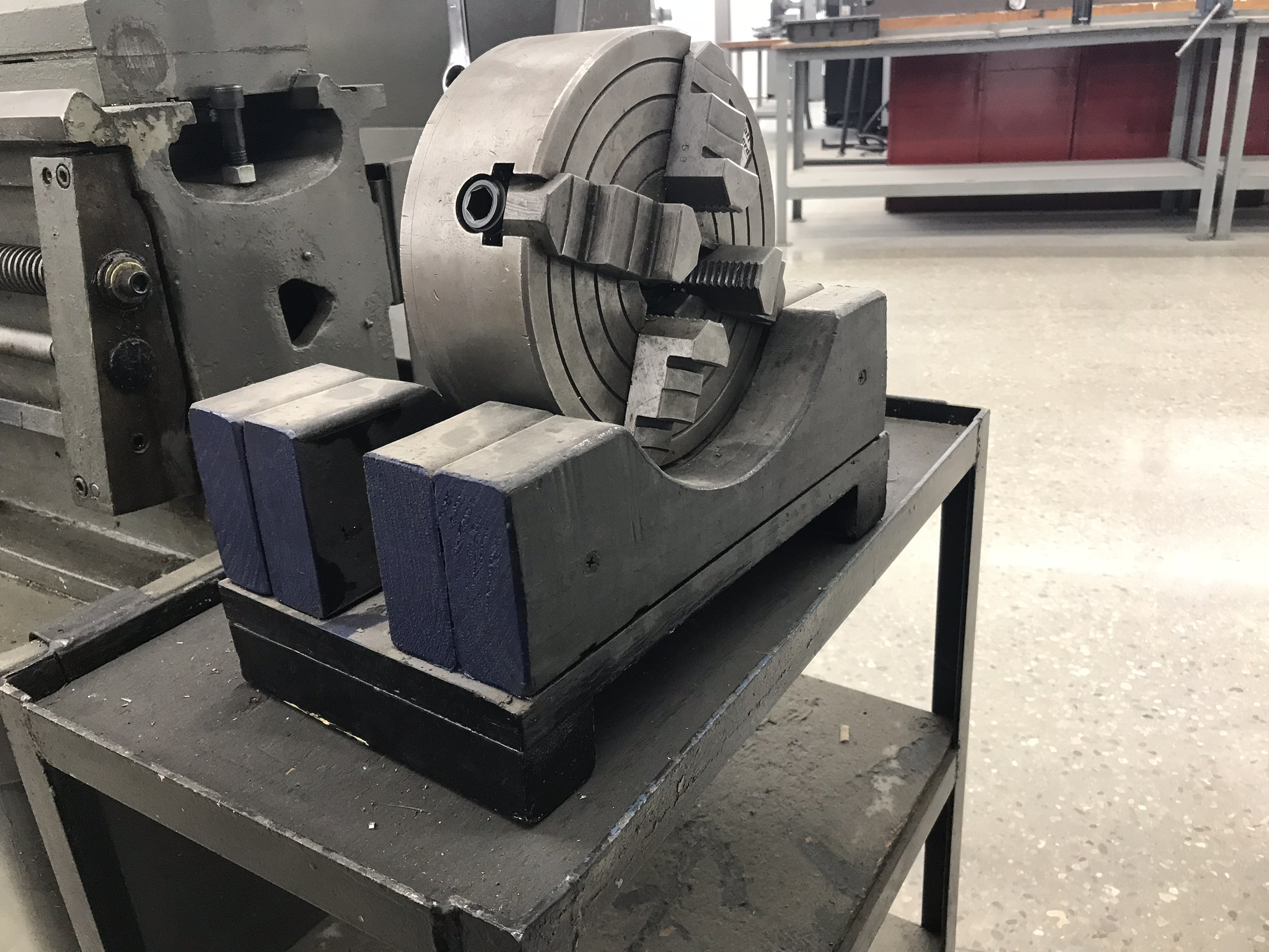 "Clausing Colchester 13"" x 25"" Toolroom Lathe (2) 6"" 3 jaw, 8"" 4 jaw, Aloris Tool Post, DRO, Face Plt - Image 5 of 6"