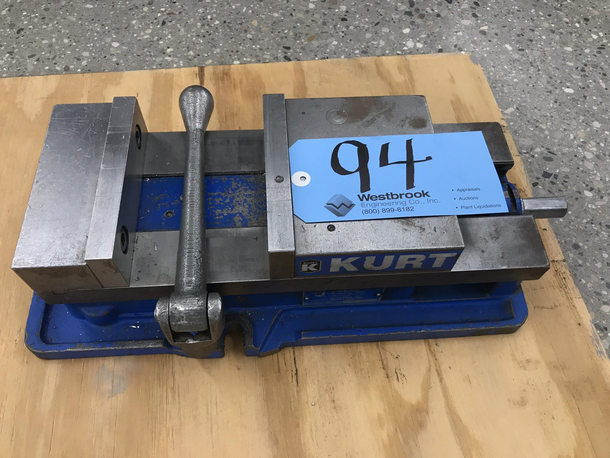 Kurt D675 Precision Machine Vise