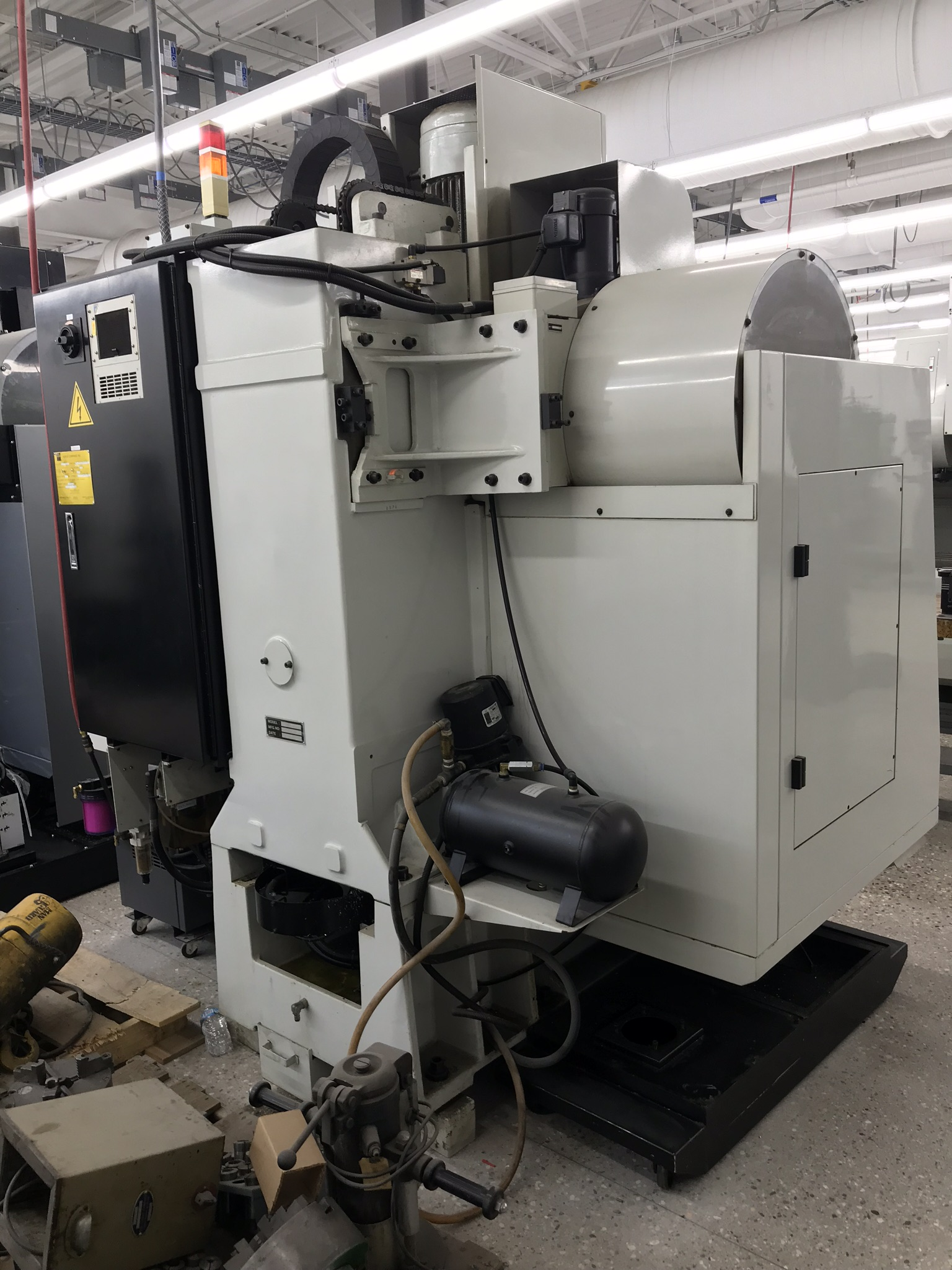 Hurco VM-1 CNC Vertical Machining Center, Spindle Recently Replaced, Approx 6,500 Hours, Max Control - Image 6 of 6