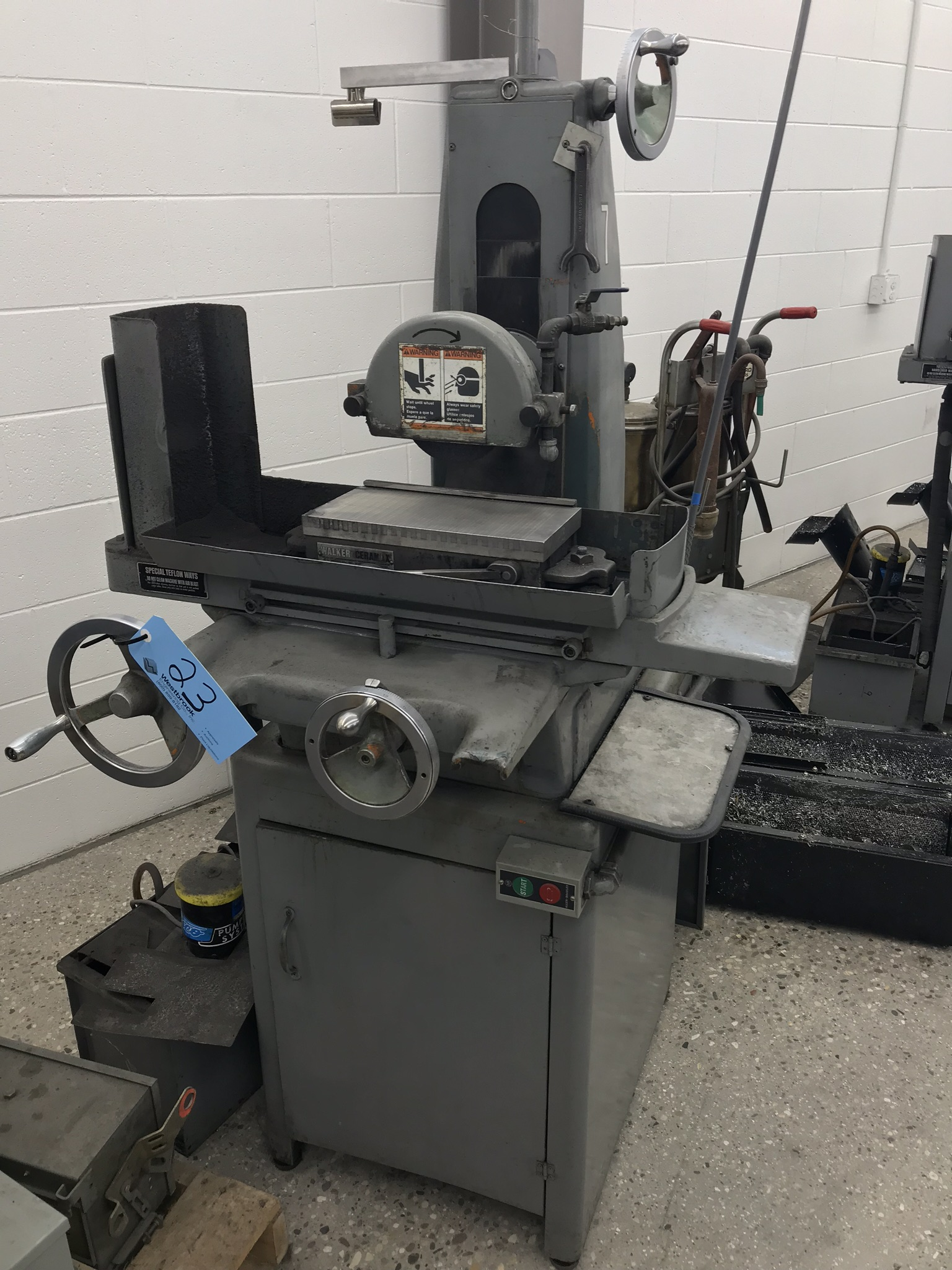 """Harig 612 6"""" x 12"""" Surface Grinder, 6"""" x 12"""" Permanent Magnetic Chuck, Coolant"""