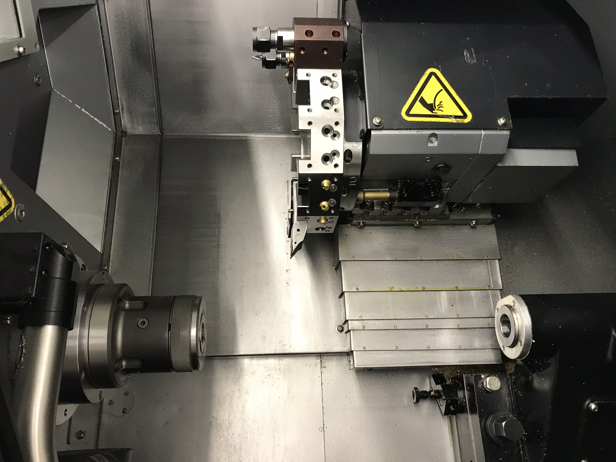 Hurco TM-6i CNC Lathe, Winmax Classic Package, Rigid Tap, Renishaw Presetter, Chip Conv, 400 Hours! - Image 9 of 13