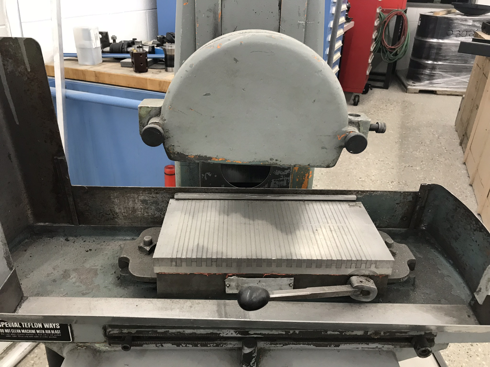 """Harig Super 612, 6"""" x 12"""" Surface Grinder, 6"""" x 12"""" Permanent Magnetic Chuck, Coolant - Image 2 of 3"""