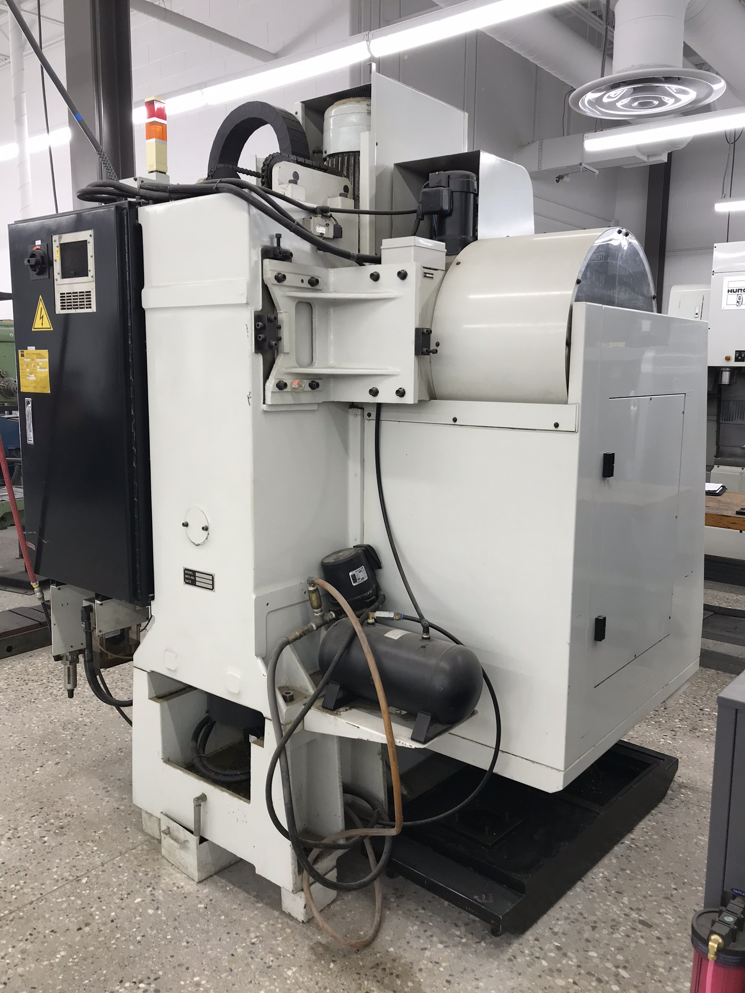 Hurco VM-1 CNC Vertical Machining Center, Spindle Recently Replaced, Approx 6,800 Hours, Max Control - Image 5 of 5