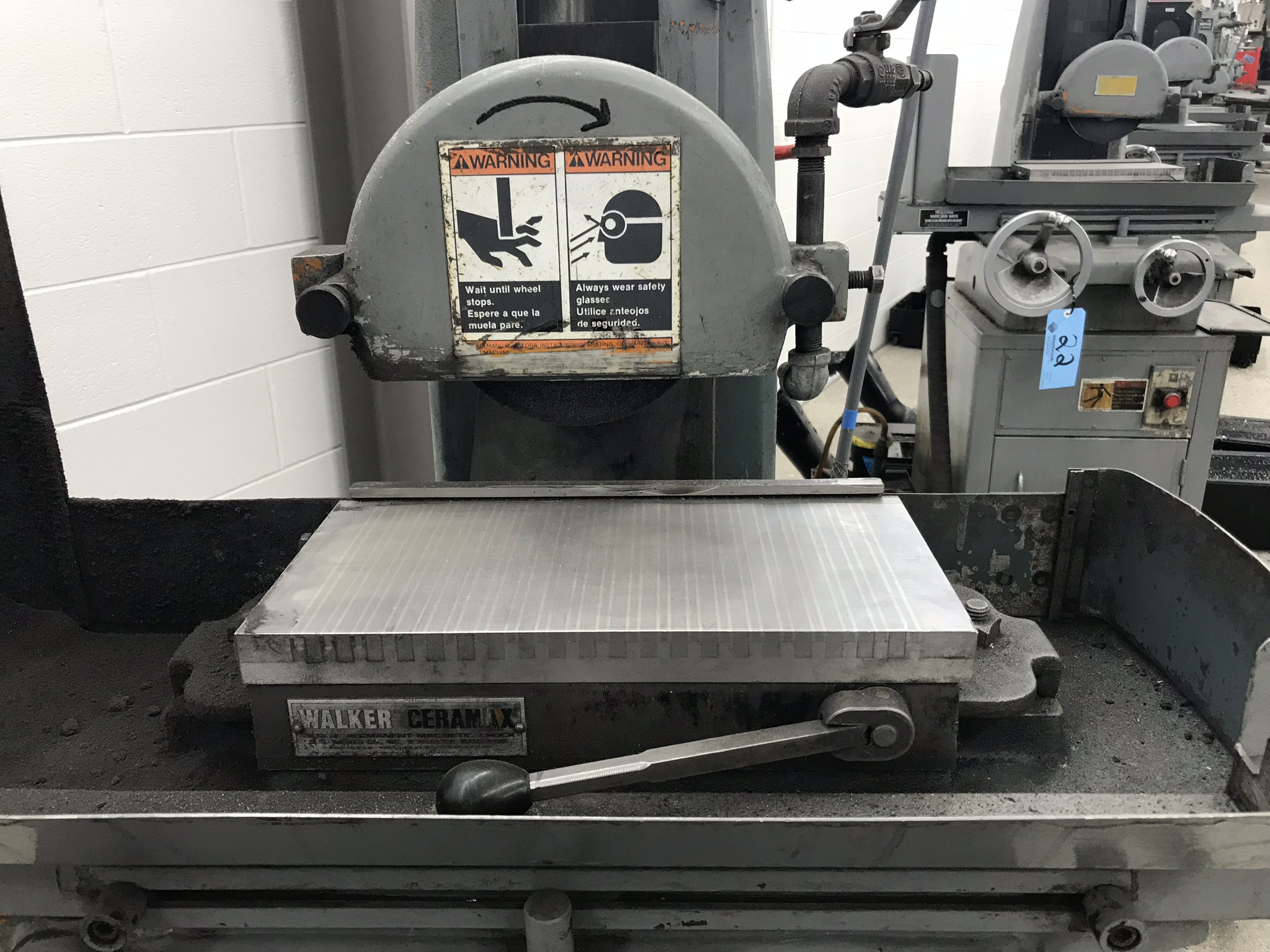 """Harig 612 6"""" x 12"""" Surface Grinder, 6"""" x 12"""" Permanent Magnetic Chuck, Coolant - Image 2 of 3"""