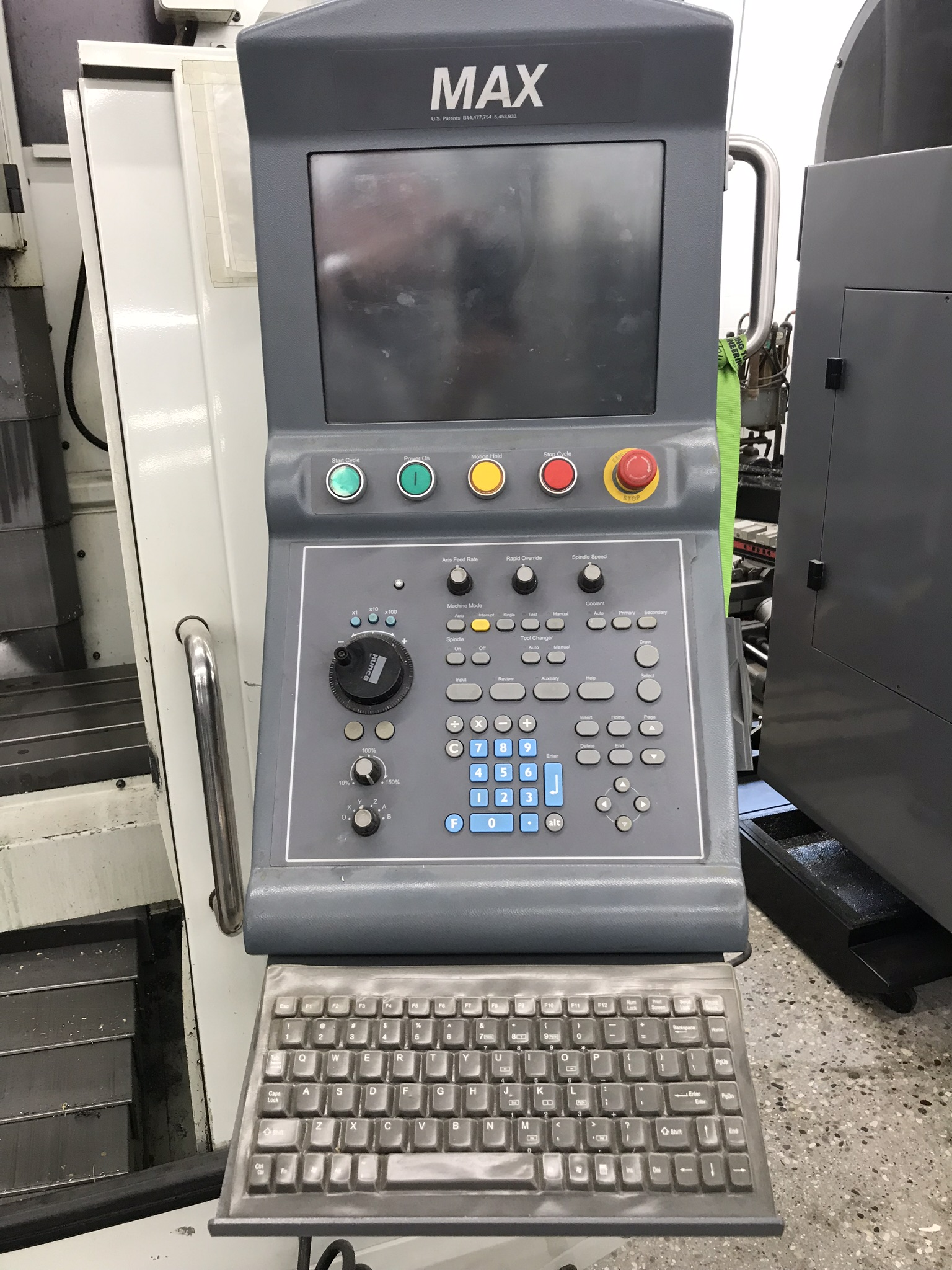 Hurco VM-1 CNC Vertical Machining Center, Spindle Recently Replaced, Approx 6,500 Hours, Max Control - Image 4 of 6
