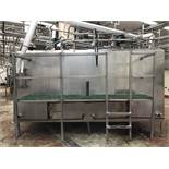 Cherry Burrell 2-Compartment 1,000 Gallon Jacketed Stainless Steel Tank, Model S | Rig $ See Desc