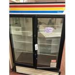 True Double Glass Door Refrigerator, Model GDM-49 | Rig $ See Desc