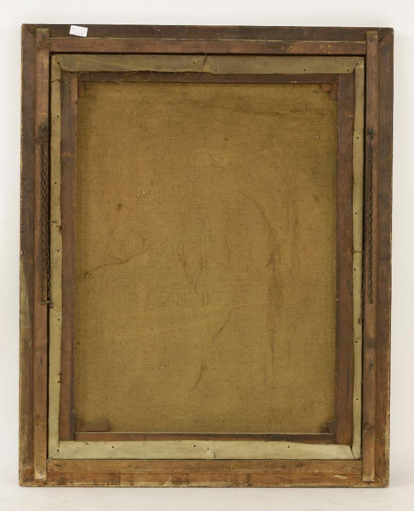 Lot 239 - Arthur Hacker RA (1858-1919)PORTRAIT OF A VEILED WOMANSigned l.l., oil on canvas92 x 71cm