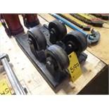 [5197] (2) TB rollers, 1200 lbs. cap.