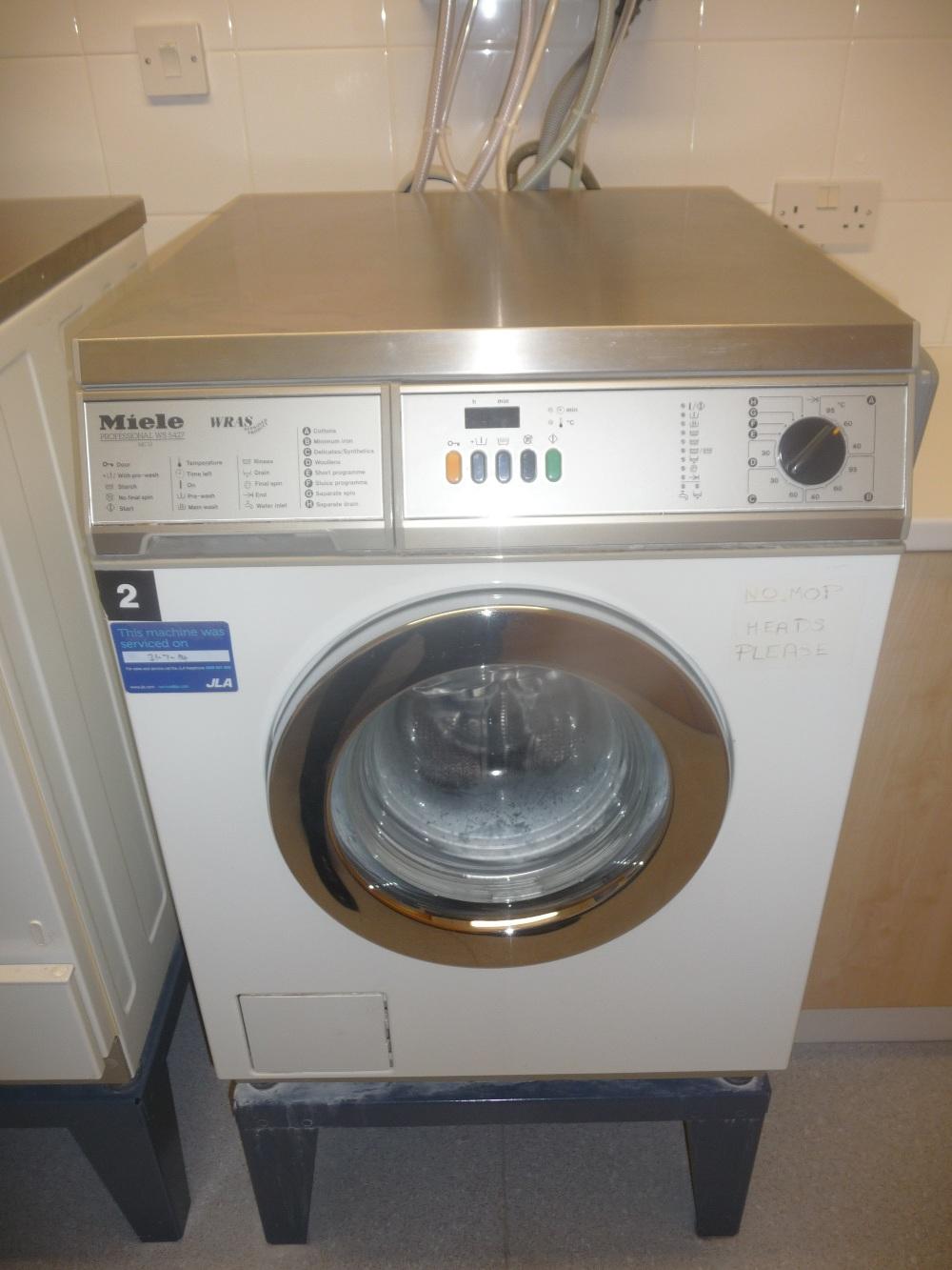 miele professional ws5427 washing machine. Black Bedroom Furniture Sets. Home Design Ideas