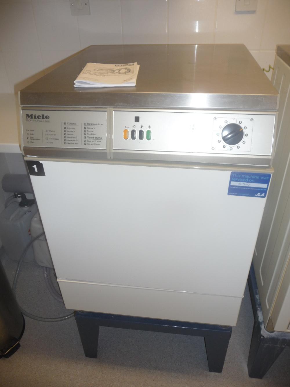 Miele professional t5206 tumble dryer - Miele professional ...