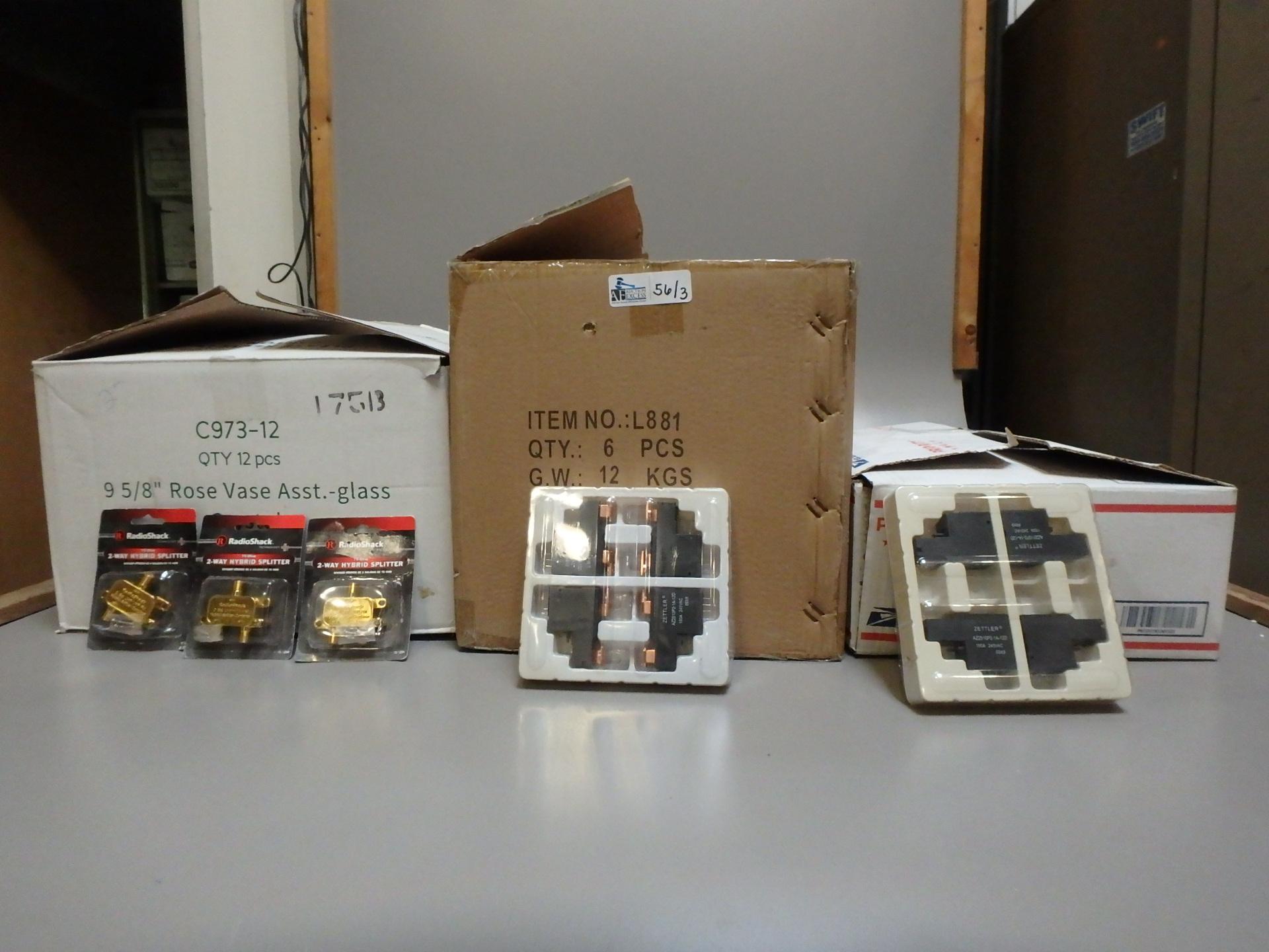 Lot 56 - 3 BOXES MISC