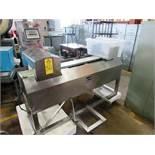 """Safeline Mdl 7000904191 Metal detector, 7 3/4 """" W X 3 3/4"""" T aperture, 2 1/2"""" clearance, 6"""" W X 5' L"""