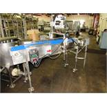 "Packaging Services U.K. Label Applicator, pressure sensitive applicator with brush on 14"" W X 6' L"