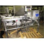 """Safeline Metal Detector/Inline Checkweigher, 9 3/4"""" W X 7"""" T aperture, 5 1/2"""" clearance, 8"""" W X 7' L"""