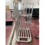 "Stainless Steel Carts, 24"" W X 40"" L"