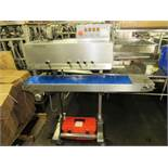 "Entre Pack Portable Continuous Band Sealer, 9"" W X 55"" L conveyor, adjustable height, 36"" long"