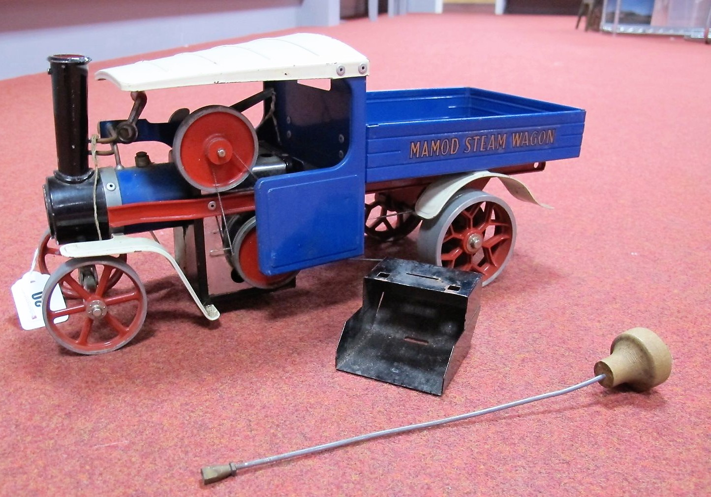 Lot 20 - A Mamod Live Steam SW1 Model Steam Wagon, model has been steamed, playworn.