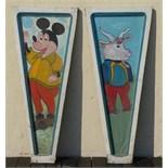 W. Disney ride carouselc ceiling  panel