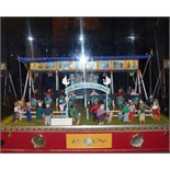 Waves of Lake Geneva, miniature carousel