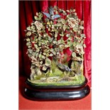 singing bird tree automaton by bontemps