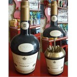 The bottle of Cognac VSOP hides cigarettes