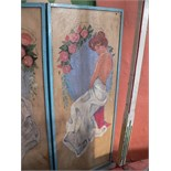 Decorative panel carousel ceiling