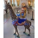 Great carousel giraffe