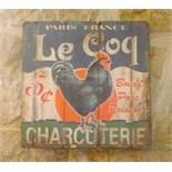 Billboard Charcuterie Le Coq