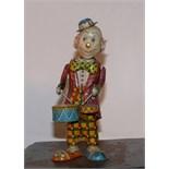 Clown tin toys wrench