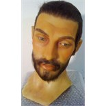 Bearded Man wax head