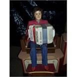 Fairground Organ with  accordion boy automaton