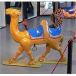 Camel carousel animal