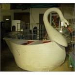 Swan carousel animal