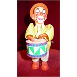 Clown drumer