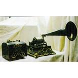 Pathé: Le bleu Menestrel Phonograph, ca. 1905