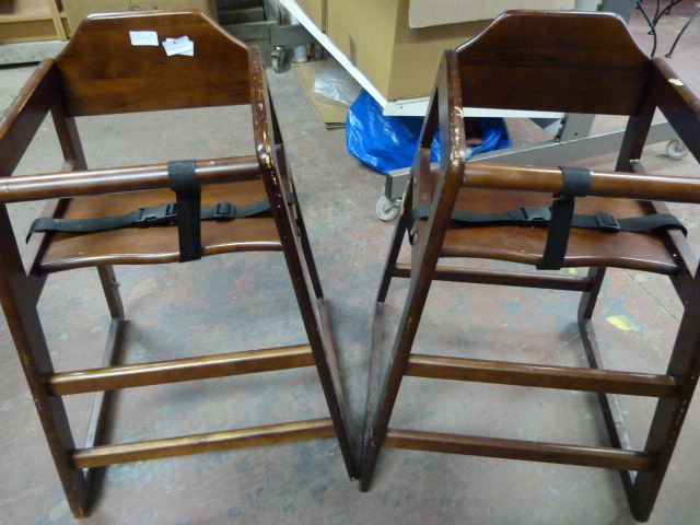 Lot 4 - *Two Baby Highchairs