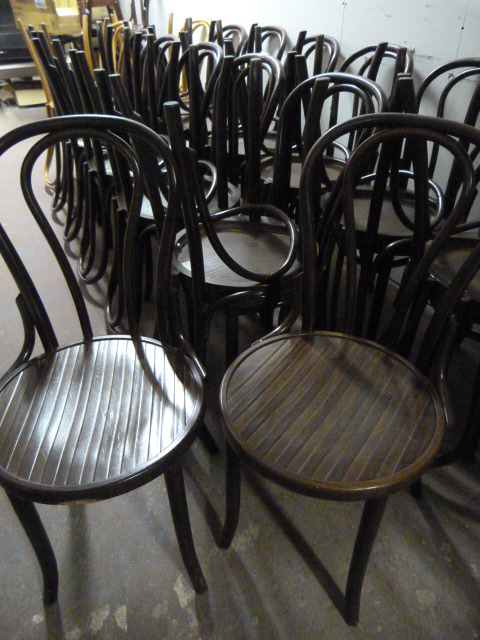 Lot 2 - *Twenty Eight Bentwood Chairs