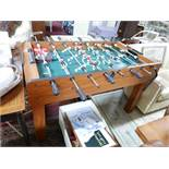 A contemporary table football table, H.86 L.134cm