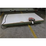 4' X 8' Hydraulic Lift Table | Rigging Price: $150