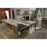Powermatic Table Saw, M# 66, S/N 9366611, W/ Dust Collector | Rigging Price: $110