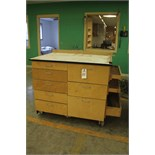 Carlson Wood Tool Storage Cabinet, W/ Contents | Rigging Price: Hand Carry or Contact Rigger
