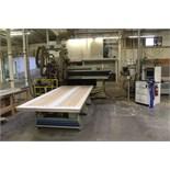 Komo CNC Router Machine, M# VR512, S/N 1711096, W/ Tooling | Rigging Price: $3200